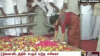 Sasikala Takes Oath In Jayalalitha's Memorial Before Going To Jail