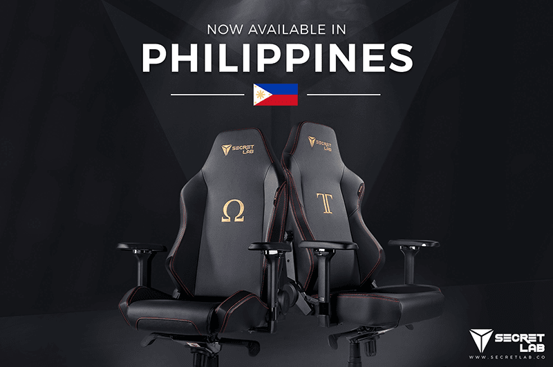 Secretlab gaming chairs to be available in the Philippines
