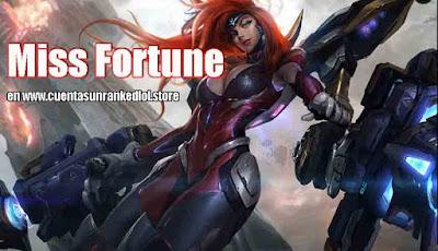 Miss Fortune Gatillera Galáctica
