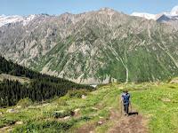 Taman Nasional Ala Archa Kirgistan