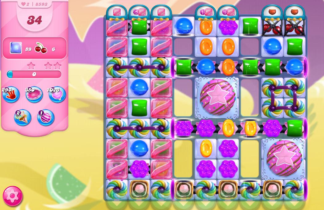 Candy Crush Saga level 8593