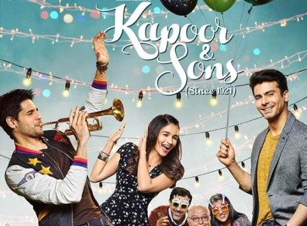 Kapoor and Sons (2016) - Fawad Khan, Alia Bhatt, Sidharth Malhotra, Rishi Kapoor