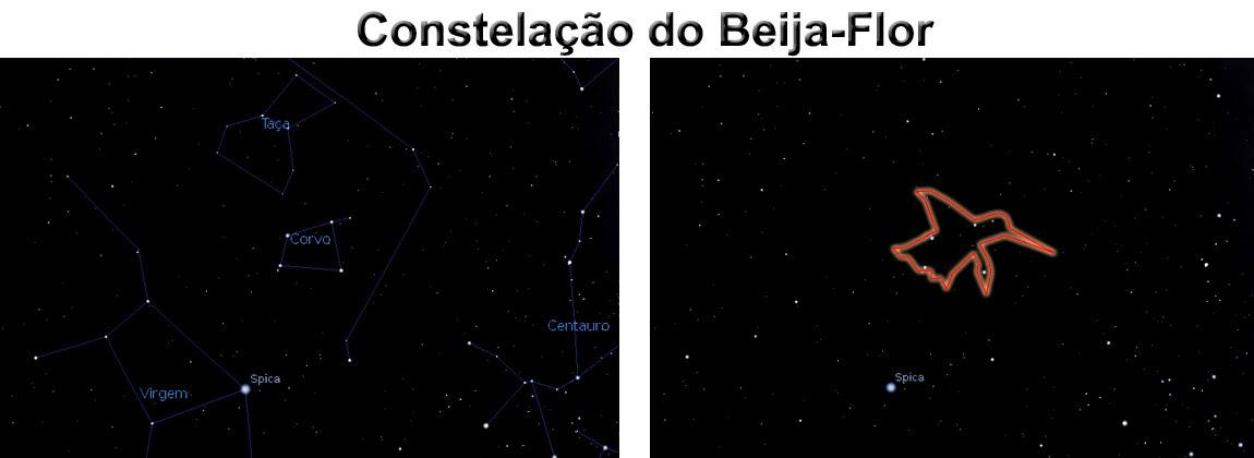 constelação do beija-flor - mainamy