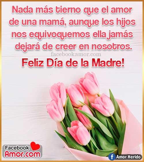 frases con tulipanes para mamá
