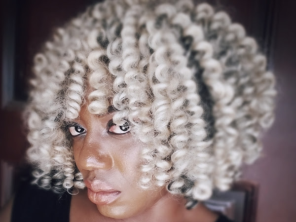 How To: Blonde Crochet Braids Style With Darling Super Star Kanekalon (Video)