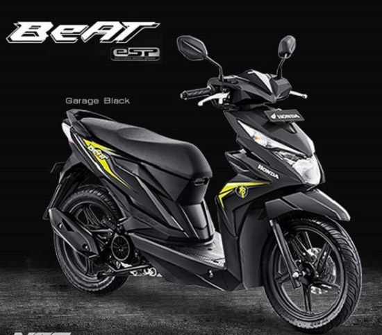 All New Honda BeAT eSP Black Matte