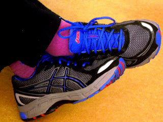 Asics gore-tex running shoe