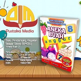 Seri Buku Mewarnai BPKBS : Aneka Buah 2