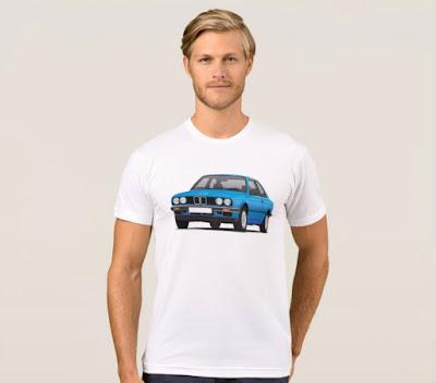 BMW E30 3-sarja t-paidat