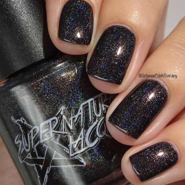 Supernatural Lacquer Resting Witch Face