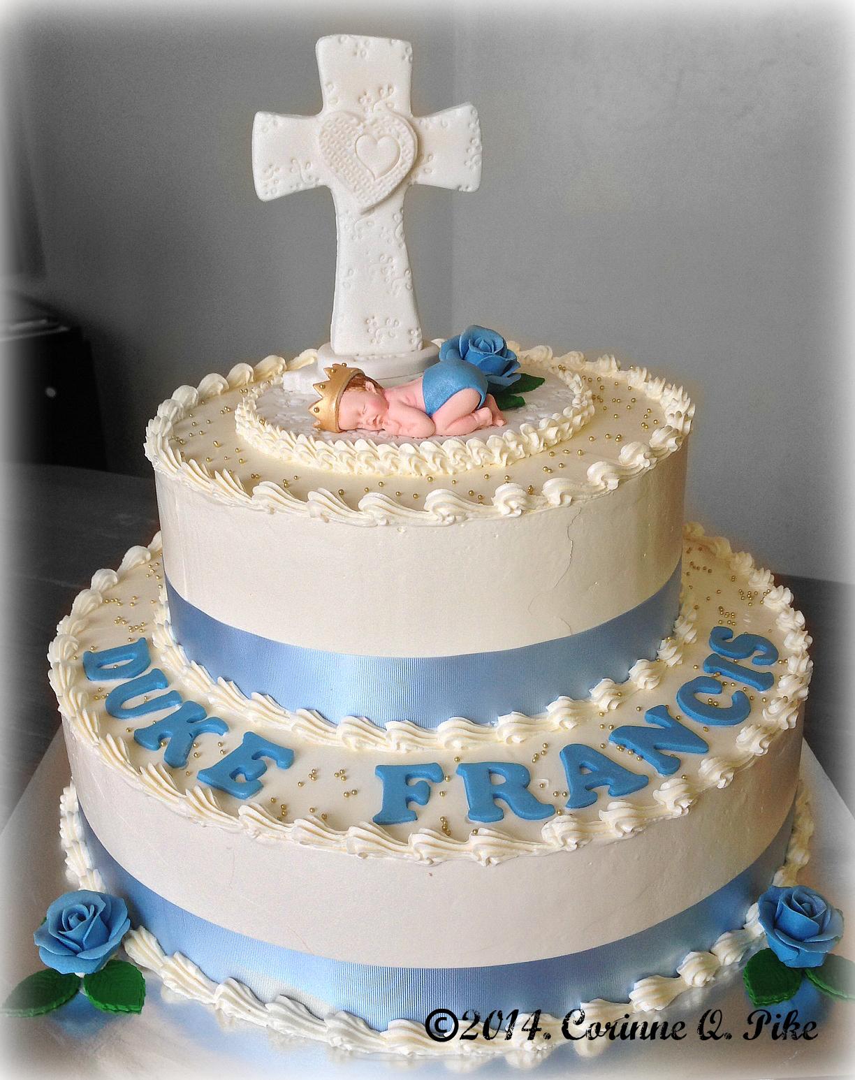 Baptism Cake Ideas For Girl