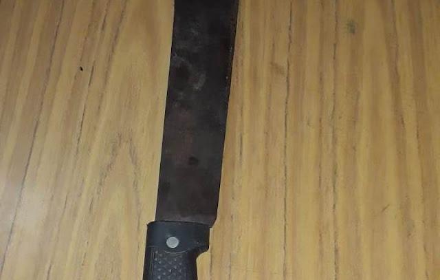CANDELARIA - Violencia : Una jovencita hirió a su pareja con un machete y terminó detenida