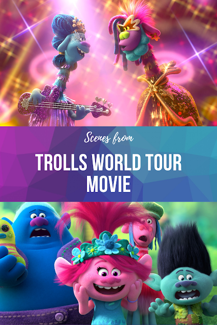 Trolls World Tour Dance Party Movie Scenes