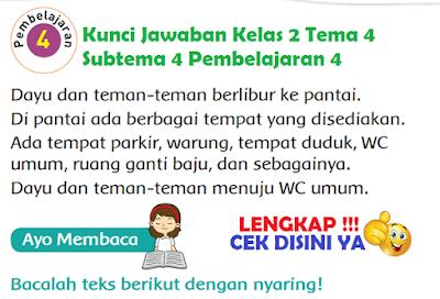 Kunci Jawaban Tematik Kelas 2 Tema 4 Subtema 4 Pembelajaran 4 Halaman 180, Halaman 181, Halaman 182, Halaman 183, Halaman 184, Halaman 185, Halaman 186, www.simplenews.me