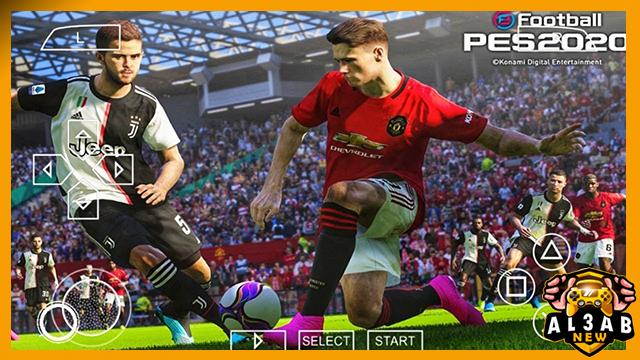 تحميل لعبة PES 2020 PPSSPP بصيغة Camera PS4 Android Offline 200 MB ISO للاندرويد PSP باخر الانتقالات من الميديا فاير