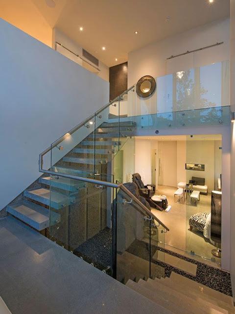 design of dog legged staircase