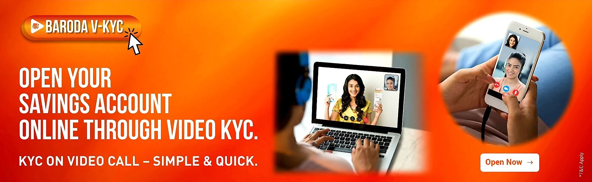 Bank of Baroda Video KYC Account Launched    घर बैठे Full KYC अकाउंट खोले    How to Open Account Online with Video KYC    Bank of Baroda me Full KYC Account Online Kaise Khole
