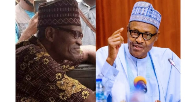 Nigerians react as President Buhari's look alike is spotted driving a bus Lagos (photos)