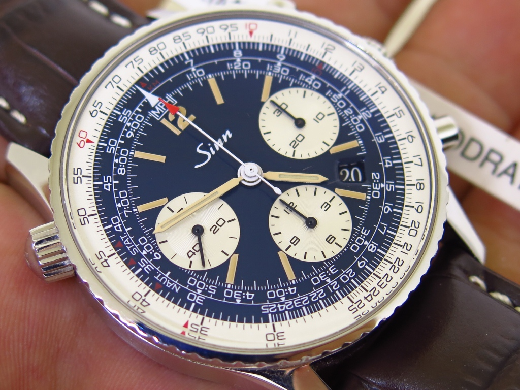 SINN CHRONOGRAPH 903.ST BE - AUTOMATIC - FULLSET BOX PAPERS