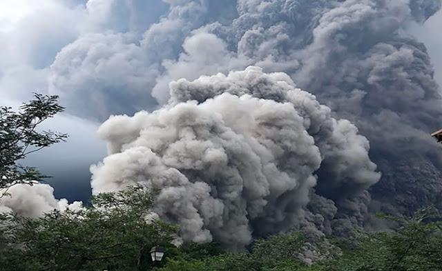 Erupciones, naturaleza, apocalipsis