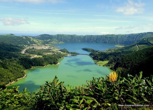 miradores impresionantes Azores Sete Cidades