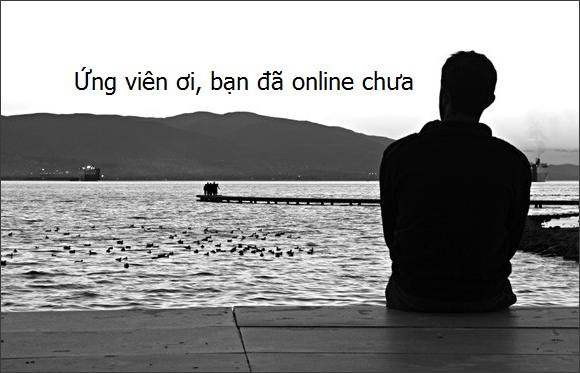 Chờ ứng viên online