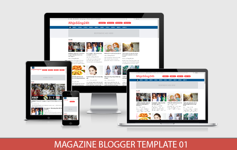 Magazine Blogger Template 01