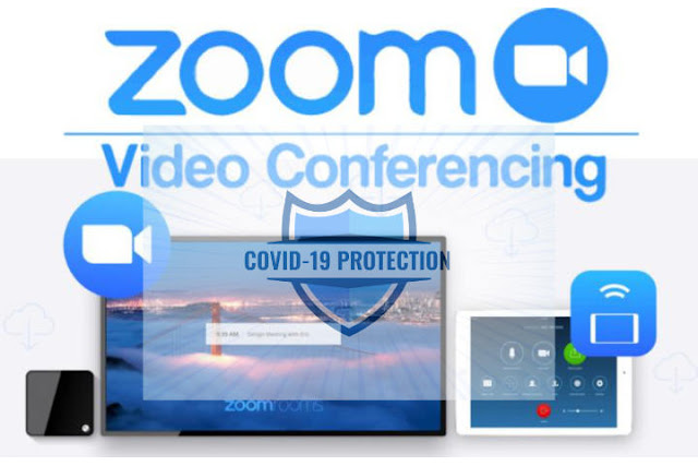 Keamanan Zoom Sumber Gambar : http://editmicro.co.za/product/zoom-video-conferencing-solution/