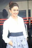 Rakul Preet Singh looks super cute in White Shirt and Skirt at Jaya Janaki Nayaka press meet 10.08.2017 003.JPG