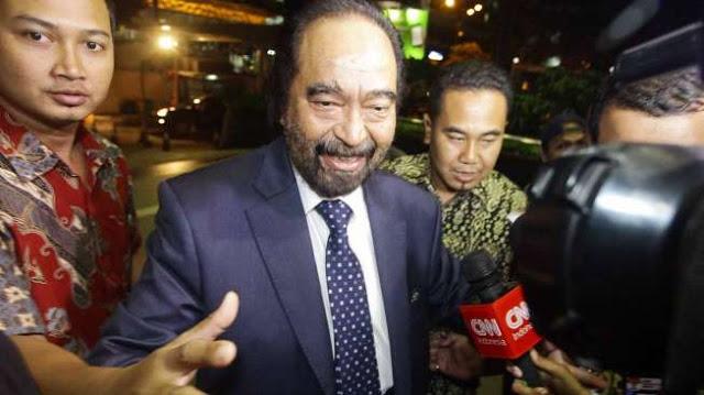 Surya Paloh Dipanggil Penyidik KPK Untuk Bersaksi dalam Kasus Suap DPRD Sumut