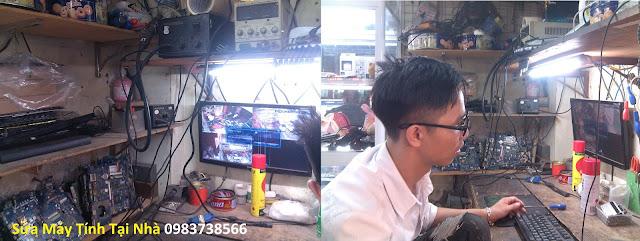 Sửa máy tính tại nhà Lê Thanh Nghị