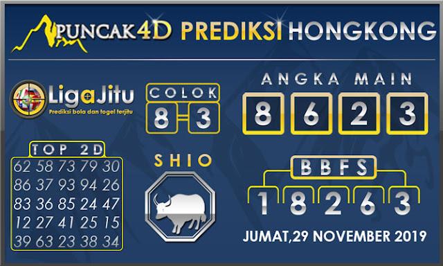 PREDIKSI TOGEL HONGKONG PUNCAK4D 29 NOVEMBER 2019