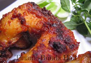 Resep Ayam Bakar Bumbu Rujak