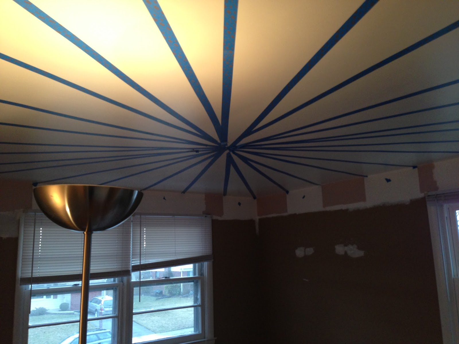 My Mamalicious Journey: DIY Circus Tent Ceiling Tutorial