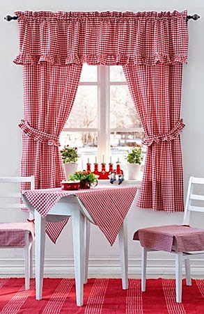 Elegant Kitchen Curtains 3