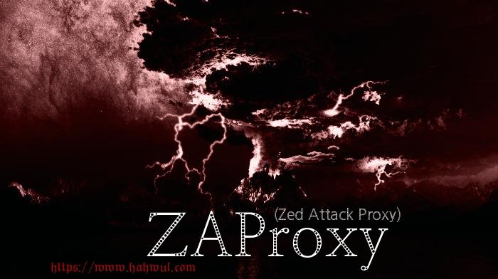 Burp suite 중독자가 바라본 OWASP ZAP(Zed Attack Proxy)  이제부터