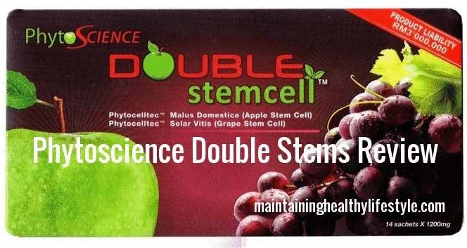 Phytoscience Double Stem Cells Review