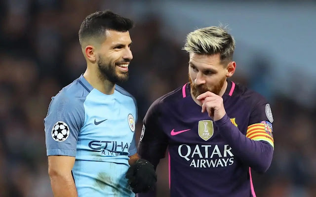 Messi will leave Barcelona - Aguero reveals
