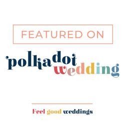 DJ:Plus! Entertainment Featured on Polka Dot Wedding!