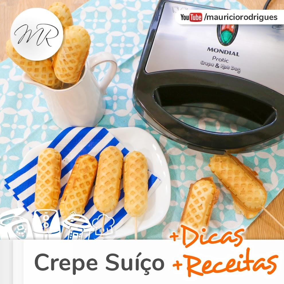 VÍDEO - Crepe Suíço + Receitas e Dicas!