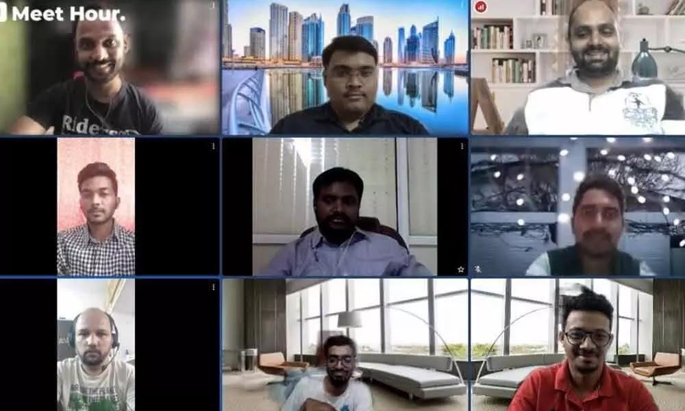 """Hyderabadi techie develops """"Meet Hour"""" 100% video calling app"""