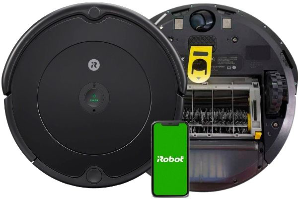 El robot aspirador que está en la cima de la gama media, Roomba 692