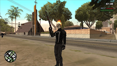 GTA San Andreas Ghost Rider Alpha 0.1 Latest Version