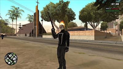 GTA San Andreas Ghost Rider Alpha 0.1 Latest Version