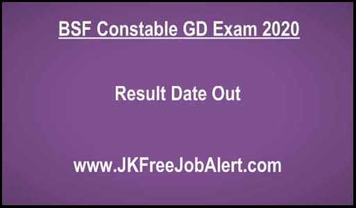 BSF Exam 2020