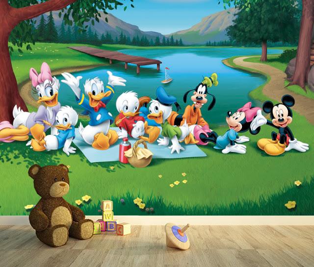 Mikki Hiiri Tapetti Disney