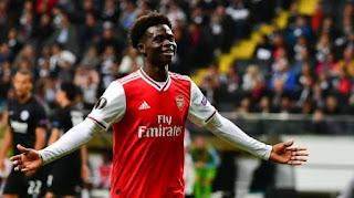 Jadon Sancho wants Arsenal whiz kid Saka to commit to England