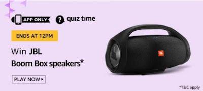 Amazon JBL Boom Box Speakers Quiz
