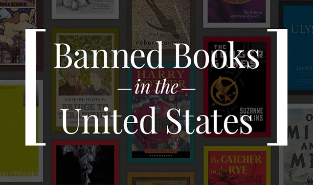 Banned Books In The United State #infographic