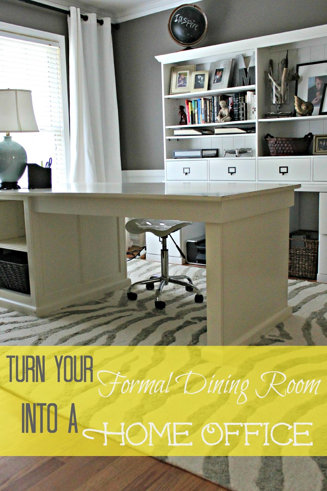 Dining Room Turned Home Office Details Southern State Of Mind Blog
